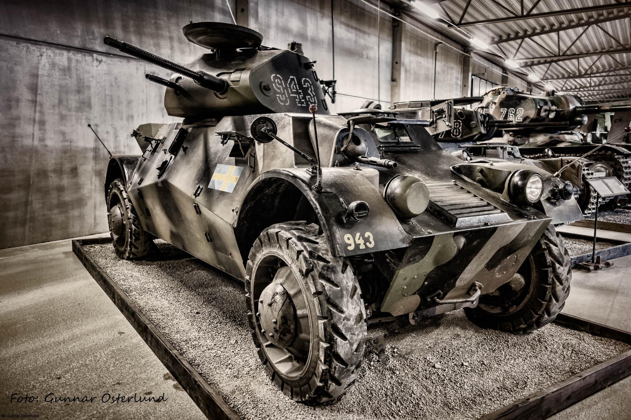 Pansarbil m/40, även kallad Lynx.