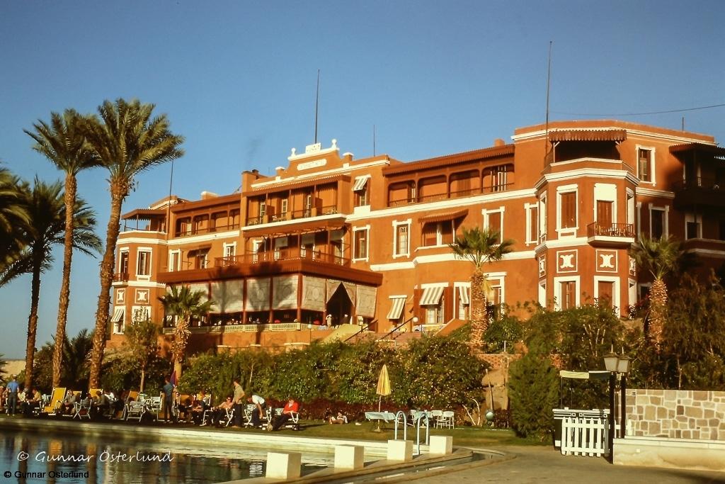 """Hotellet är välkänt från filmen """"Döden på Nilen"""""""