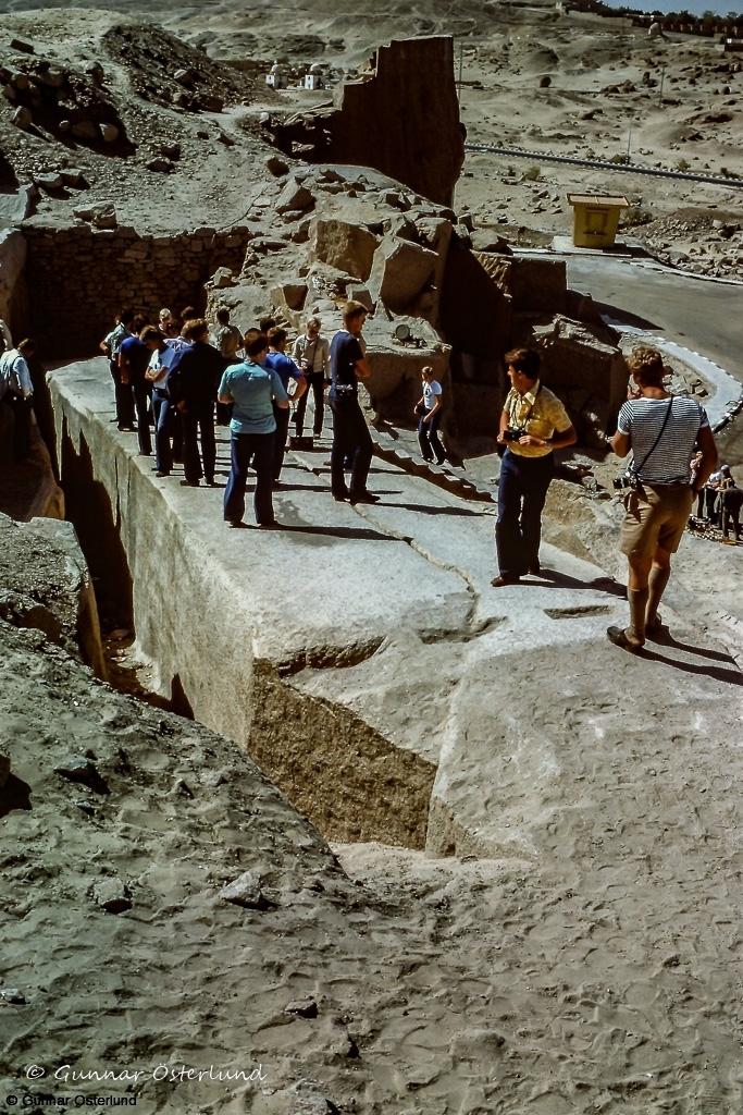 Den ofärdiga obelisken i Assuan.