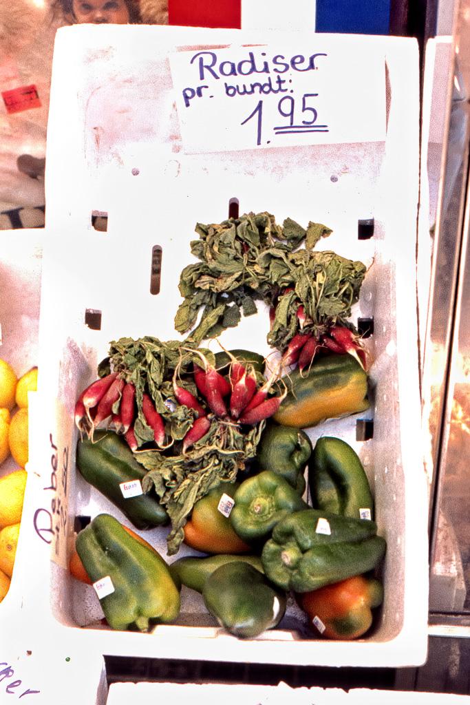 Grönsaker i Lökken
