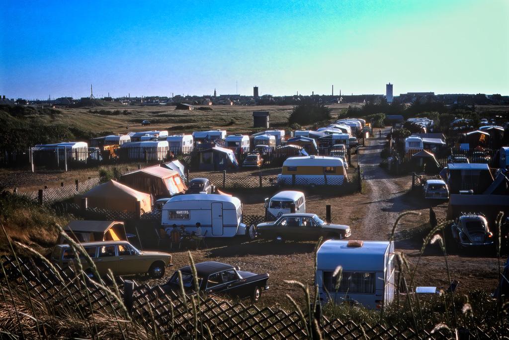 Campingplatsen i Skagen.