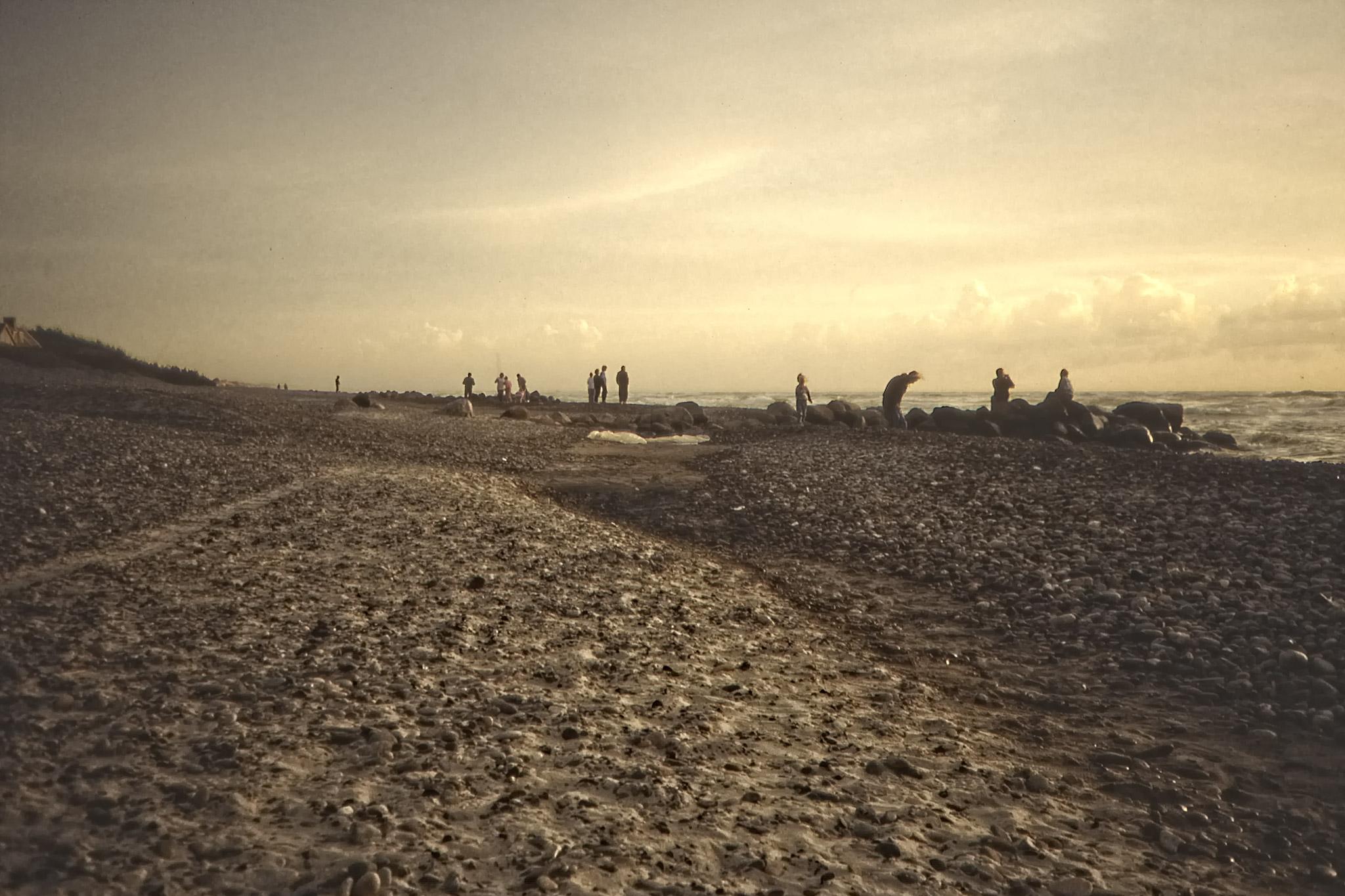 Stranden vid Gamla Skagen.