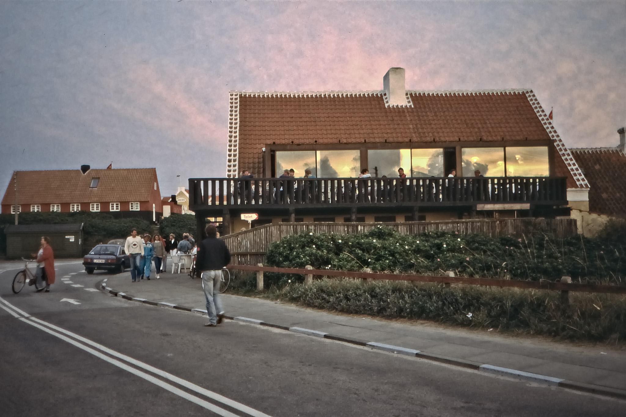 Hus i Gamla Skagen,