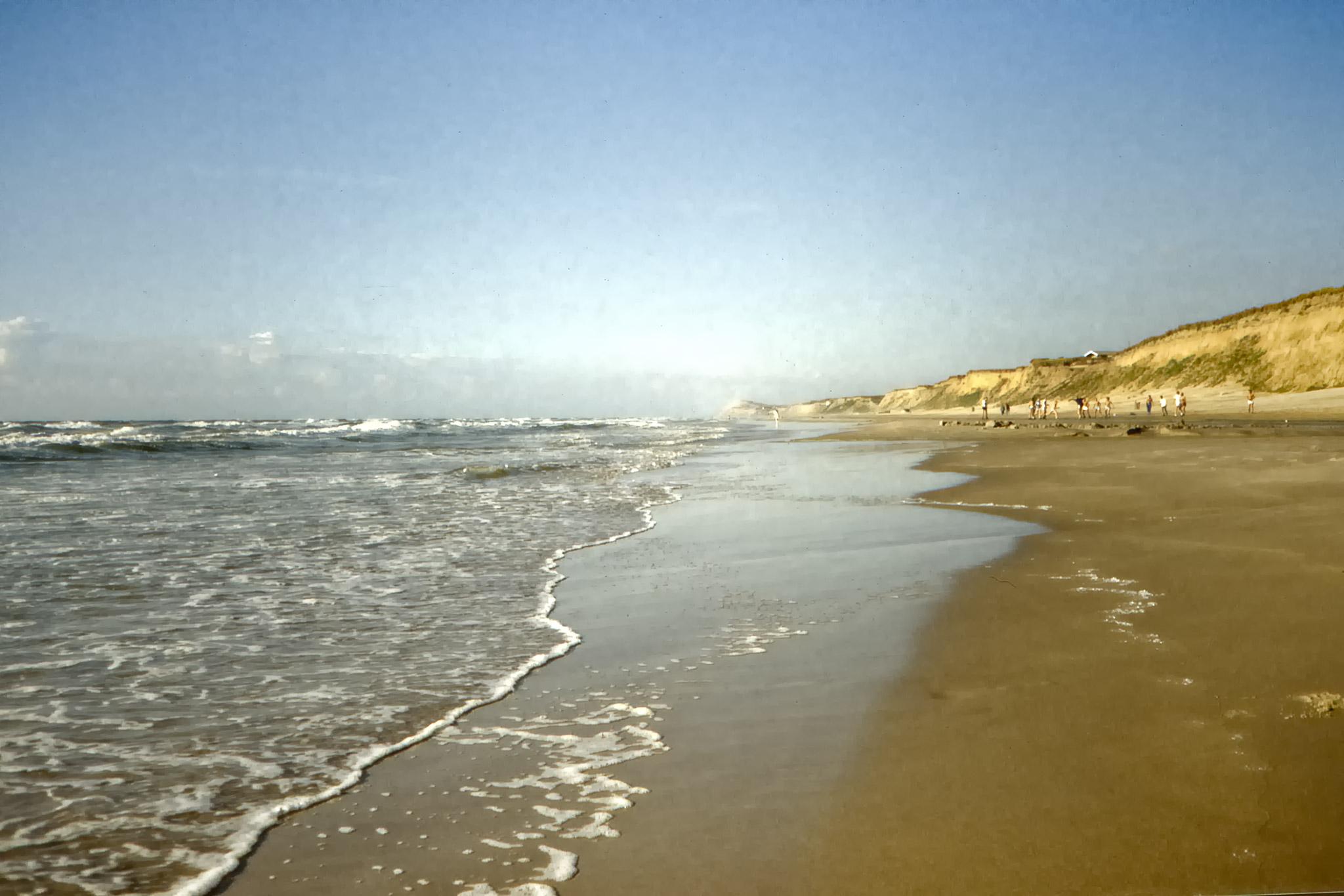 Stranden vid Lökken.