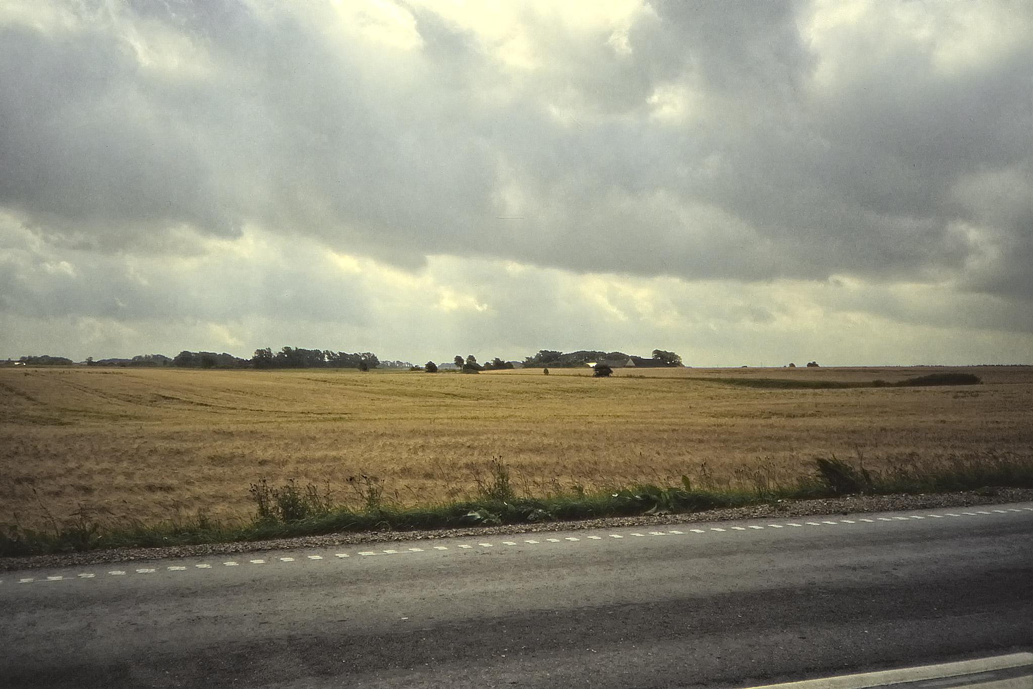 Landskap på Jylland.
