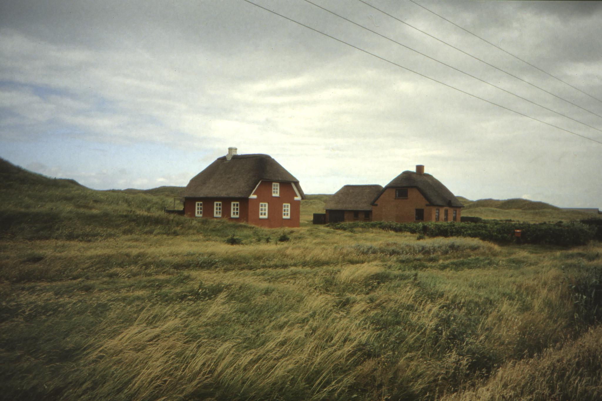 Lantgård på västra Jylland.