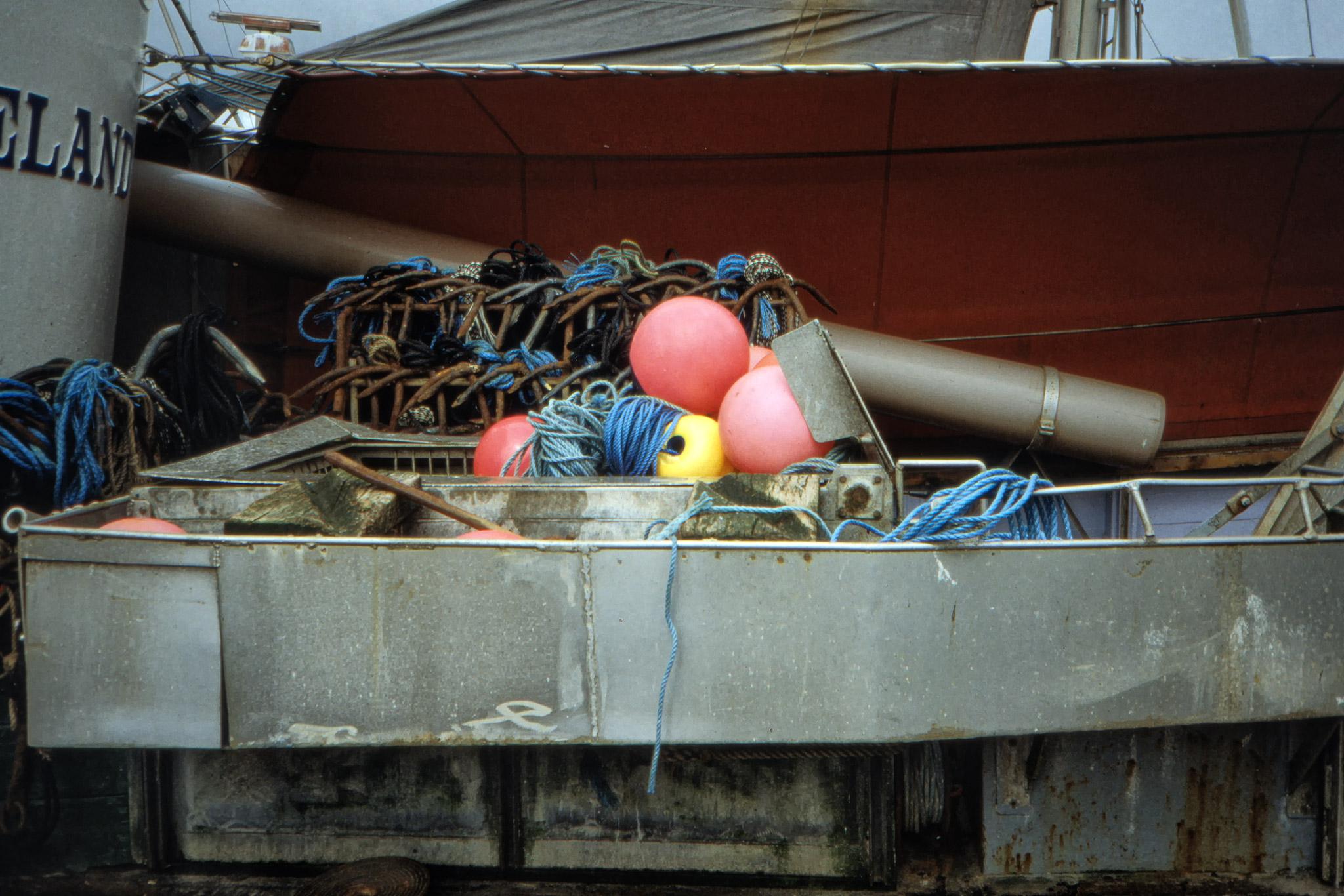 Fiskeutrustning.