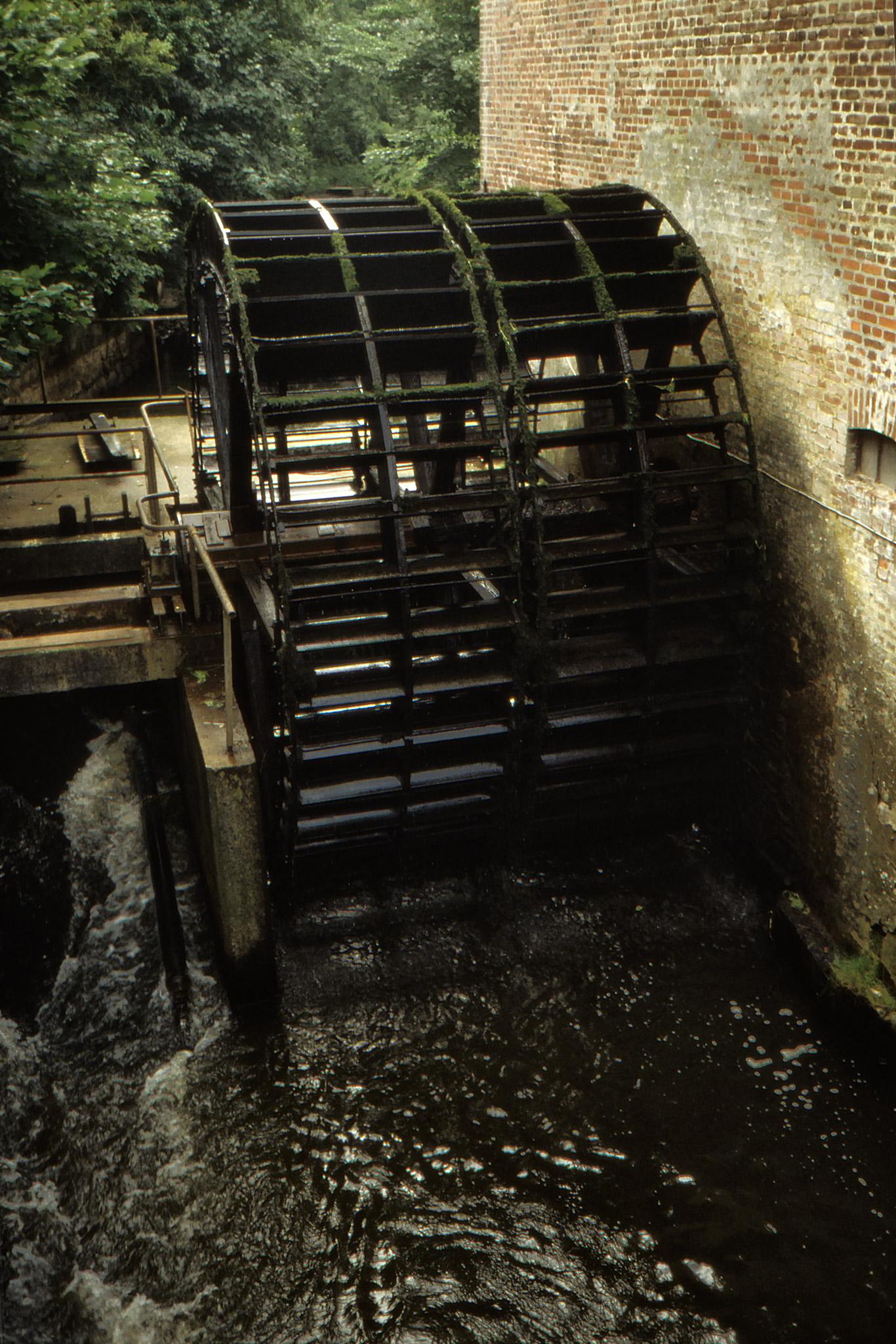 Vattenhjul i Ribe.