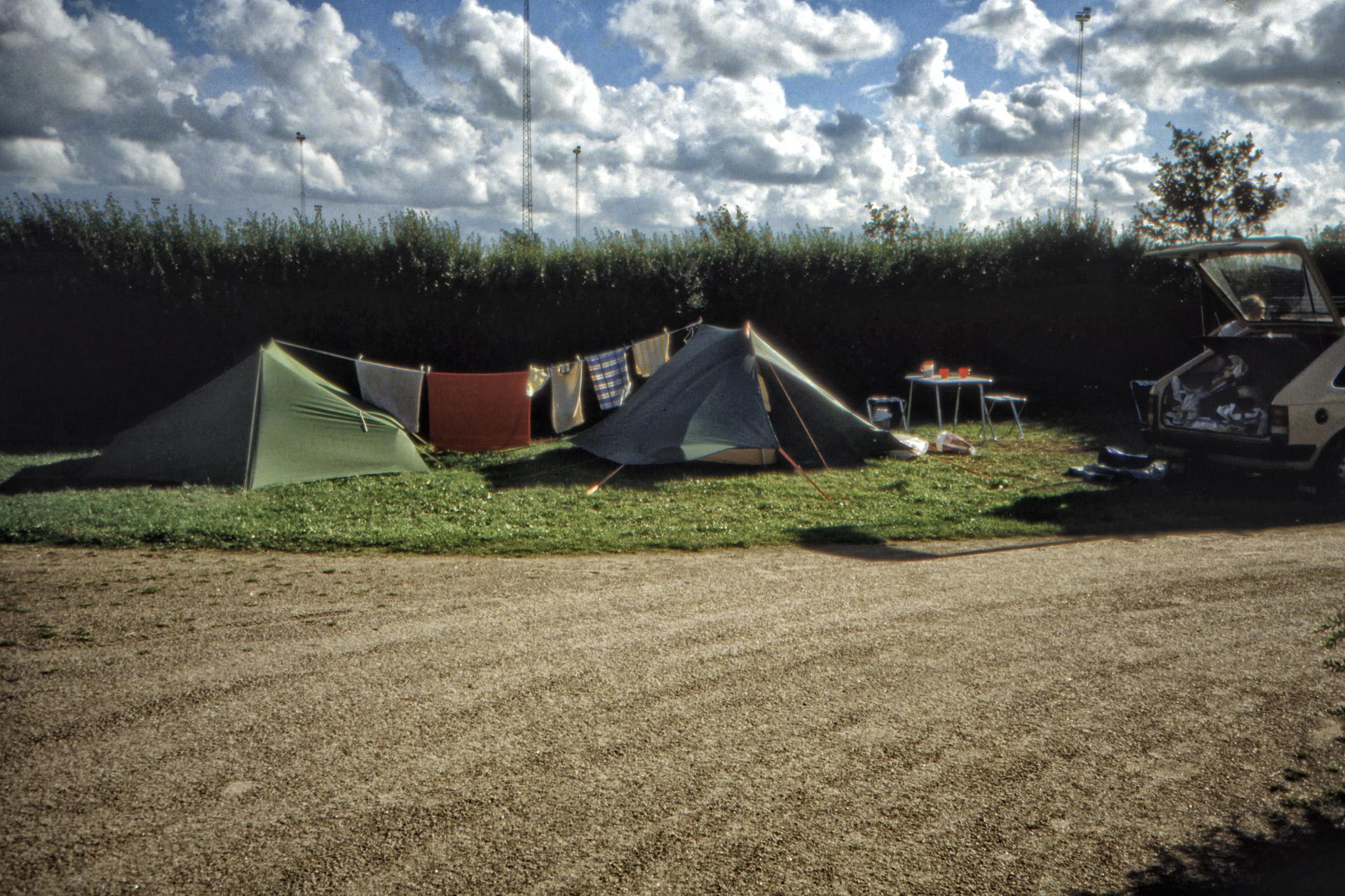 Campingplatsen i Ringsted.