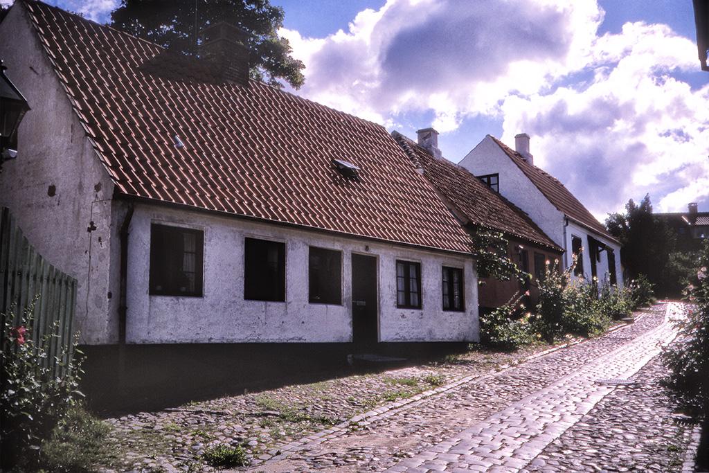 Gamla hus i Ebeltoft.