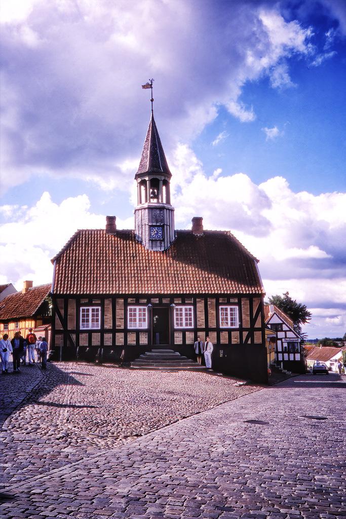 Rådhuset i Ebeltoft.