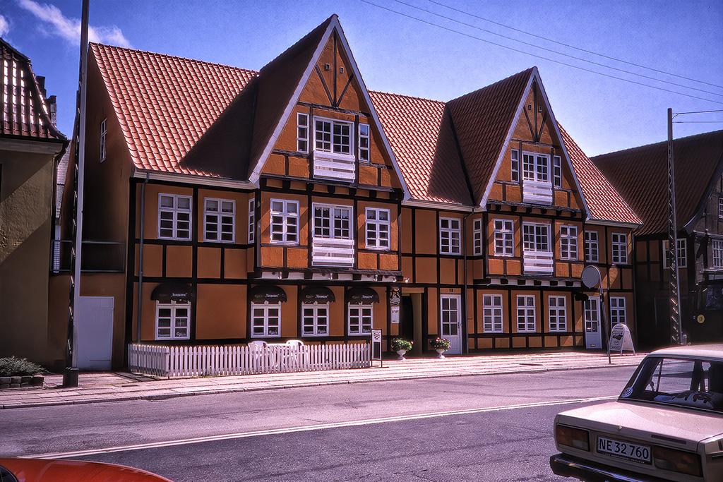 Hus i Randers.