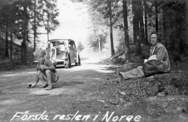 Första rasten i Norge