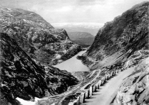 Utsikt mot en fjord