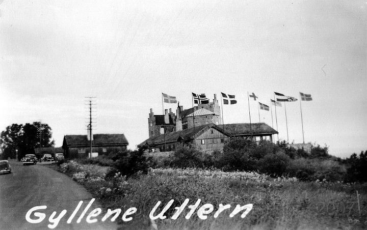 Gyllene Uttern, ett välkänt värdshus söder om Gränna.