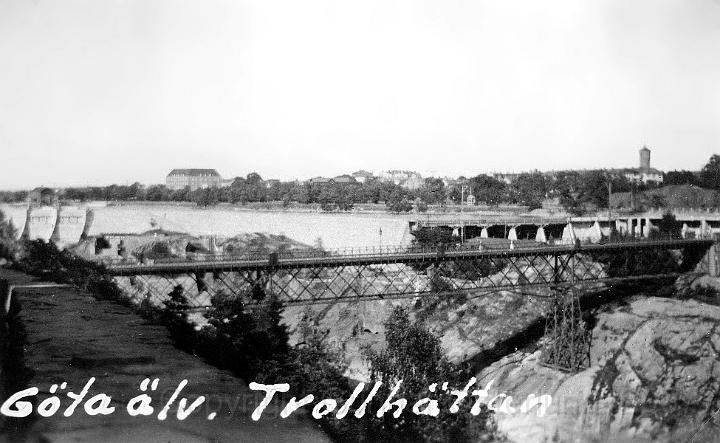 Göta älv vid Trollhättan