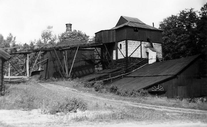 Gammal hytta i Ängelsberg