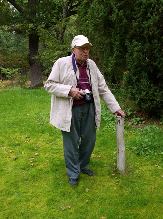 Erik Österlund, sista fotot.