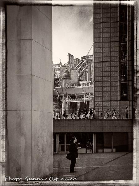 Människa i Paris