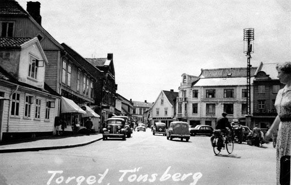 Torget i Tönsberg