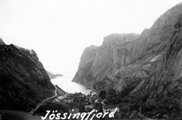 Fjorden blev känd under VK 2 när engelsmännen befriade fångarna på det tyska fartyget Altmar