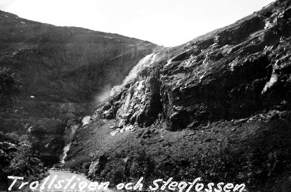 Trollstigen och Stegfossen