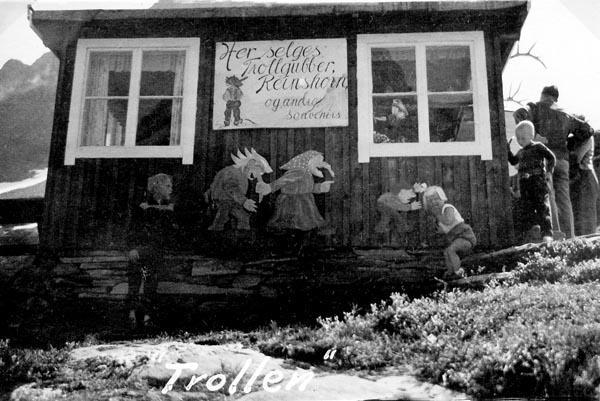 Trollens hus vid Trollstigen.