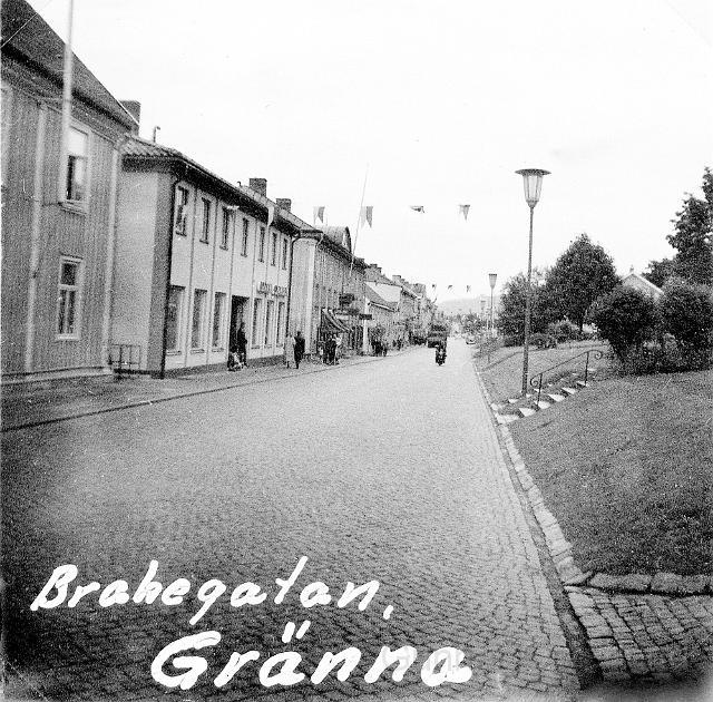 Brahegatan i Gränna