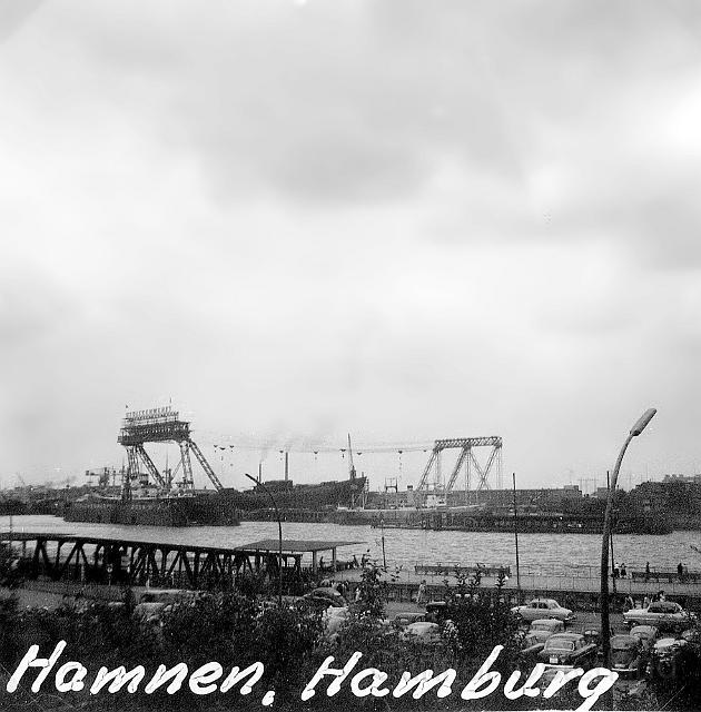 Hamnen i Hamburg