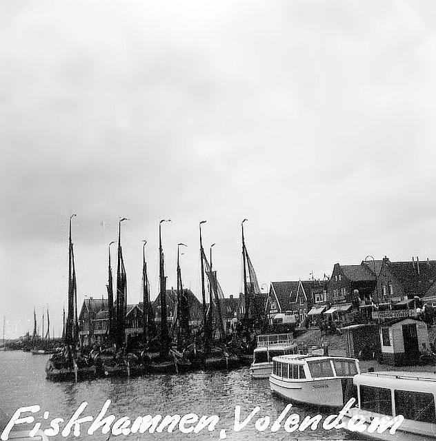 Fiskehamnen i Volendam