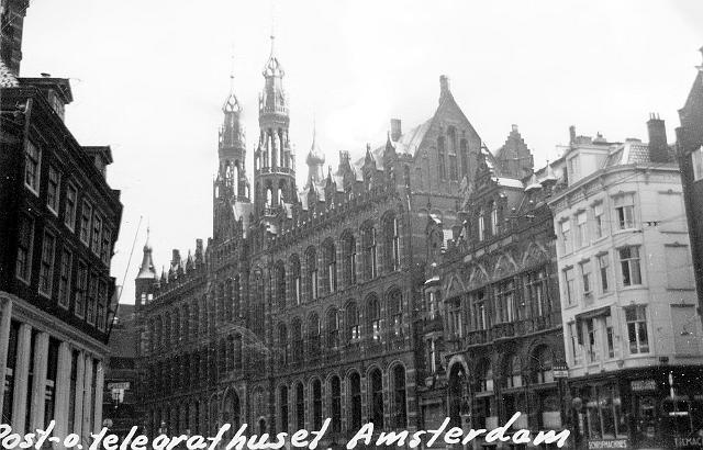 Post- och telegrafhuset i Amsterdam