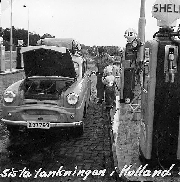 Sista tankningen i Holland
