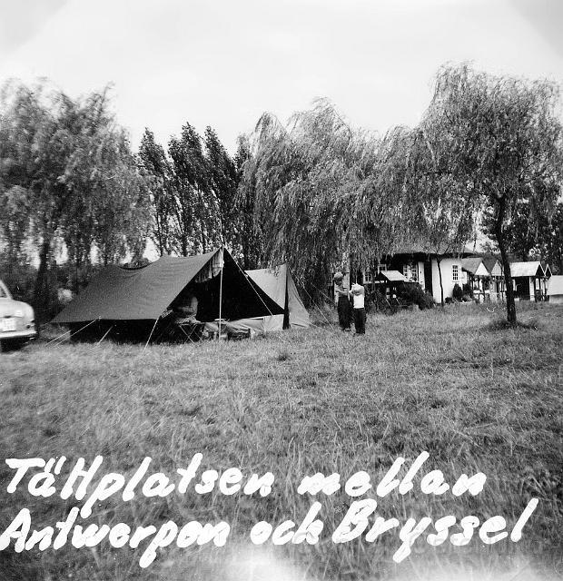 Campingplats i Belgien
