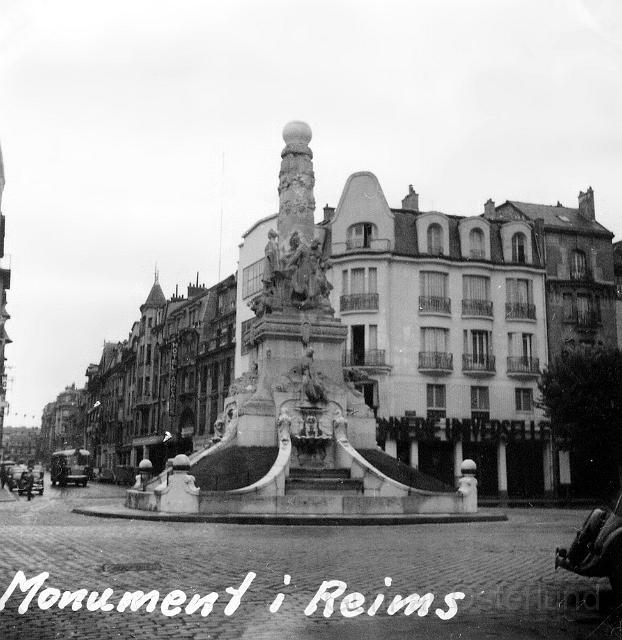 Monument i Reims