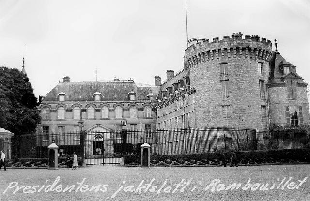 Slottet i Rambouillet
