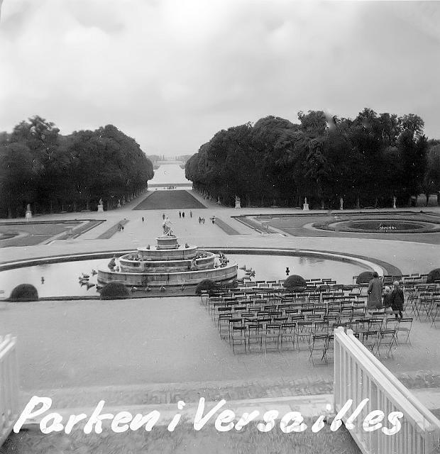 Slottsparken i Versailles