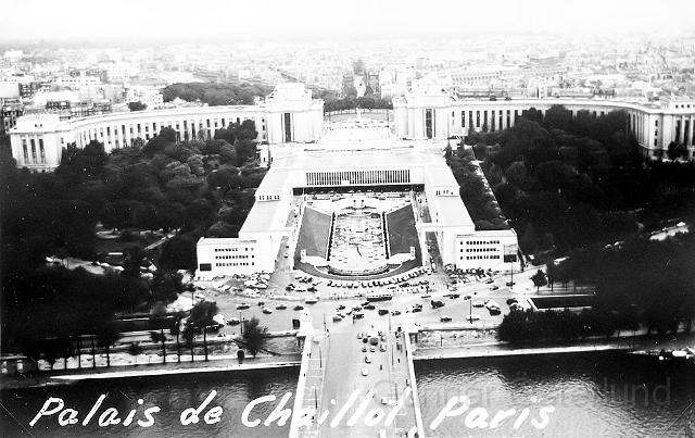 Utsikt från Eiffeltornet