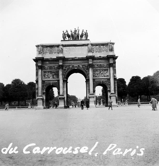 En av Paris triumfbågar