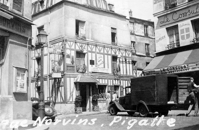 Gata i Pigalle, Paris