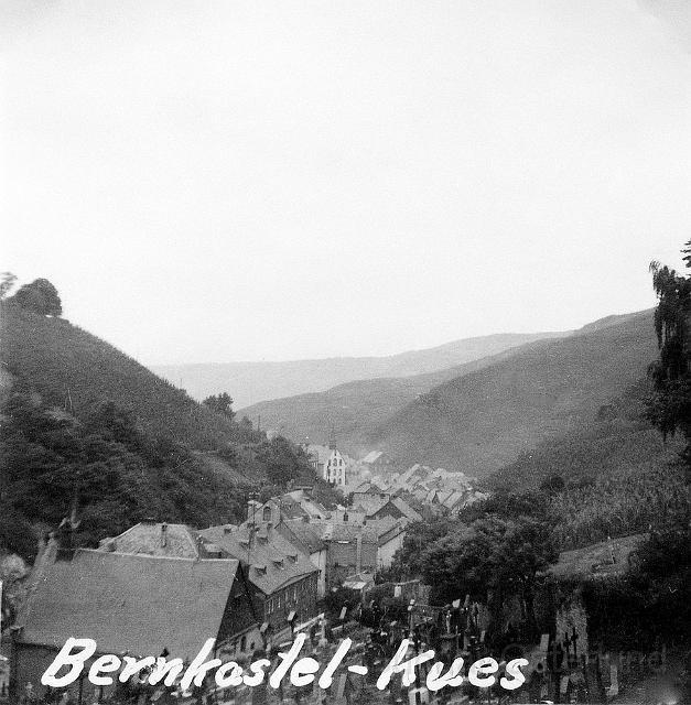 Bernkastel-Kues, en vinstad vid Mosel