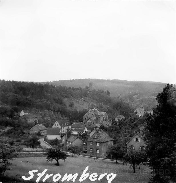 Stromberg, en liten ort vid Rhen