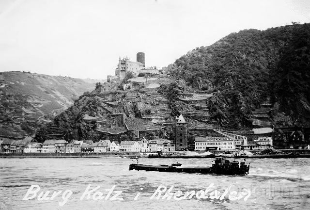 Burg Katz, Rhendalen