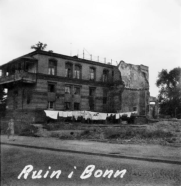 Bebodd husruin i Bonn