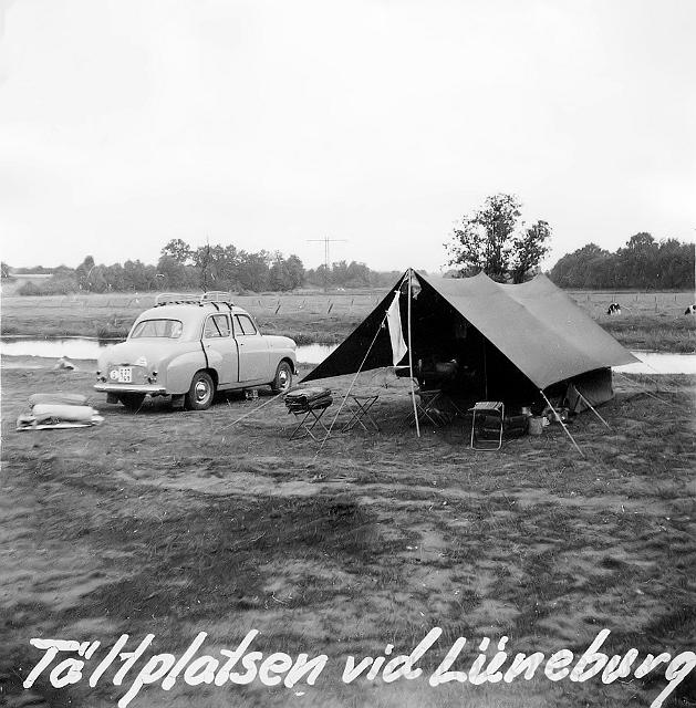 Campingplats vid Lüneburg