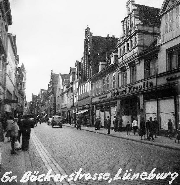 Grosser Bäckerstrasse i Lüneburg