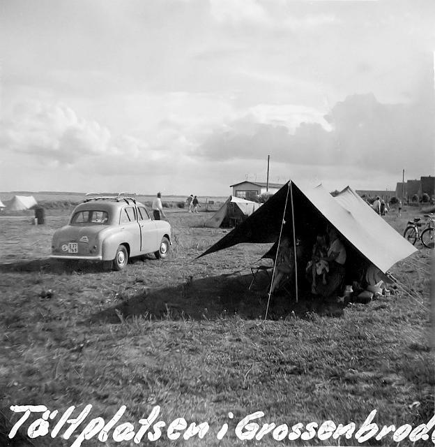 Campingplatsen i Grossenbro