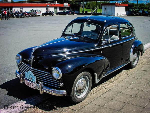 En gammal Peugeot