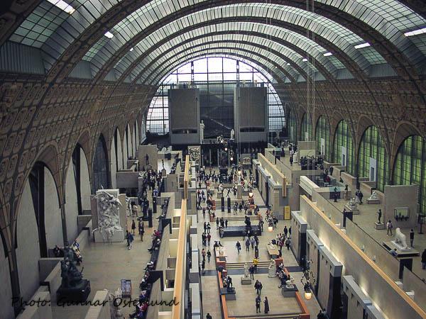Stora hallen, Musee d'Orsay.