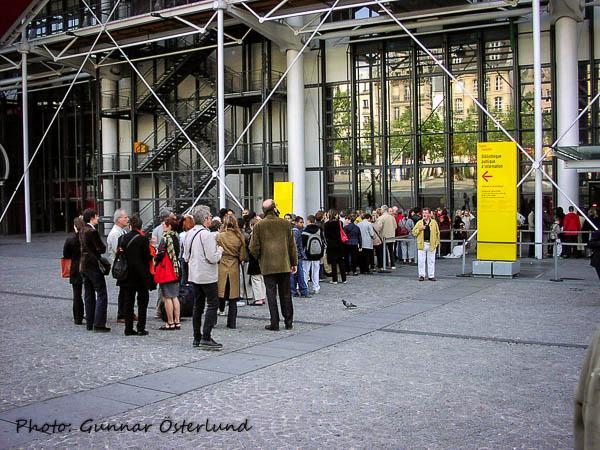 Kö vid Centre Pompidou