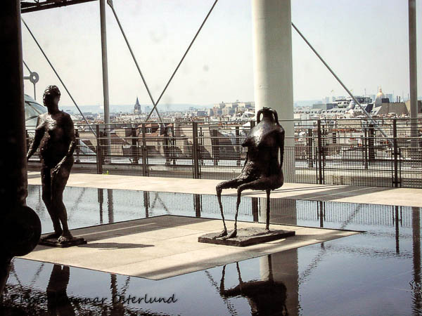 Skulpturer, Centre Pompidou.